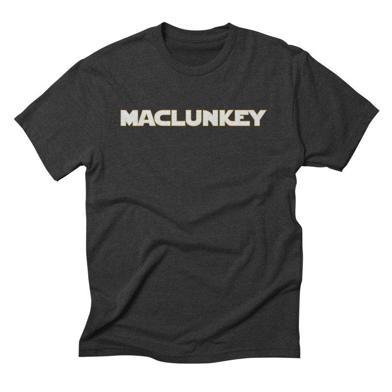 Maclunkey Men's Triblend T-Shirt by Steger