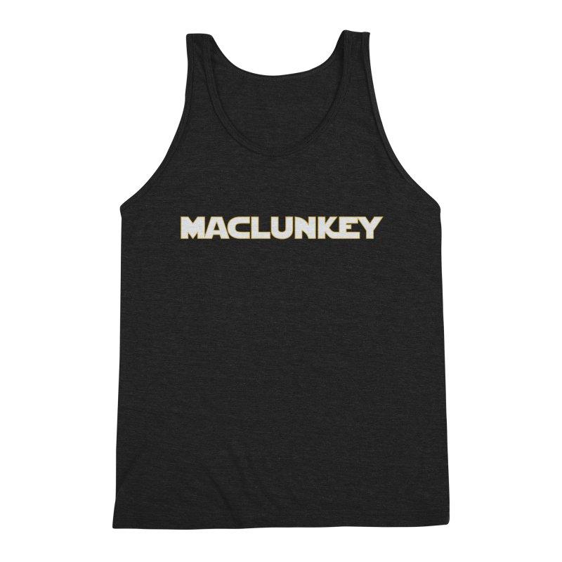 Maclunkey Men's Triblend Tank by Steger