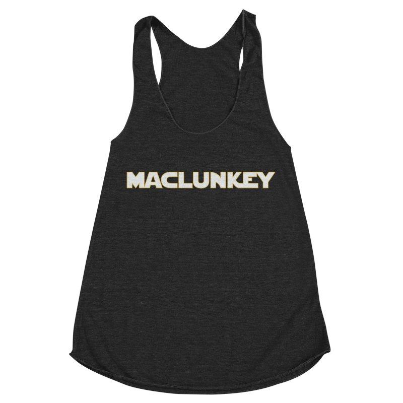 Maclunkey Women's Racerback Triblend Tank by Steger