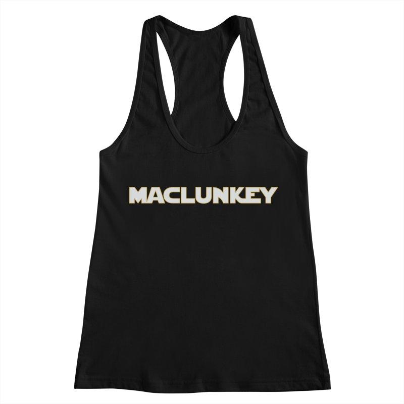 Maclunkey Women's Racerback Tank by Steger
