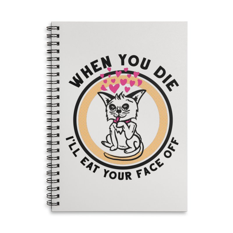 True Love Accessories Lined Spiral Notebook by Steger