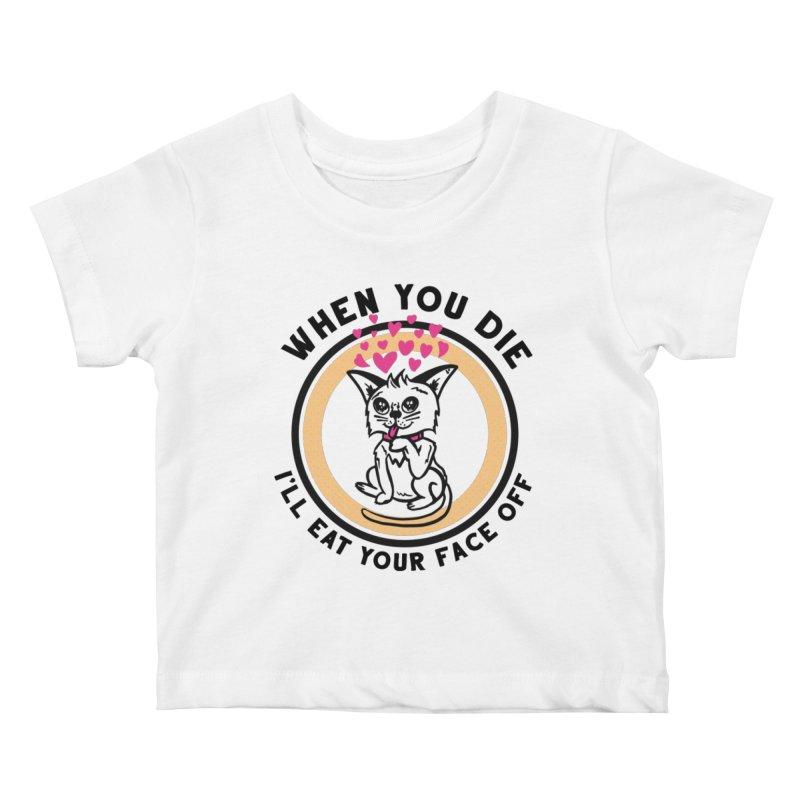 True Love Kids Baby T-Shirt by Steger