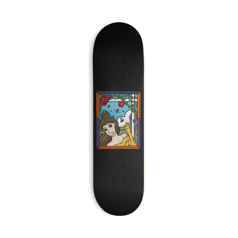 and the Bees Accessories Deck Only Skateboard by Steger