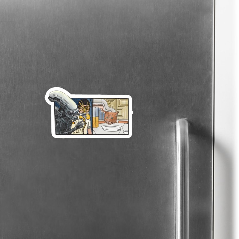 Jonesy's Retort Accessories Magnet by Steger