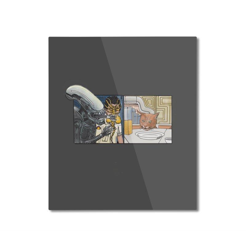 Jonesy's Retort Home Mounted Aluminum Print by Steger