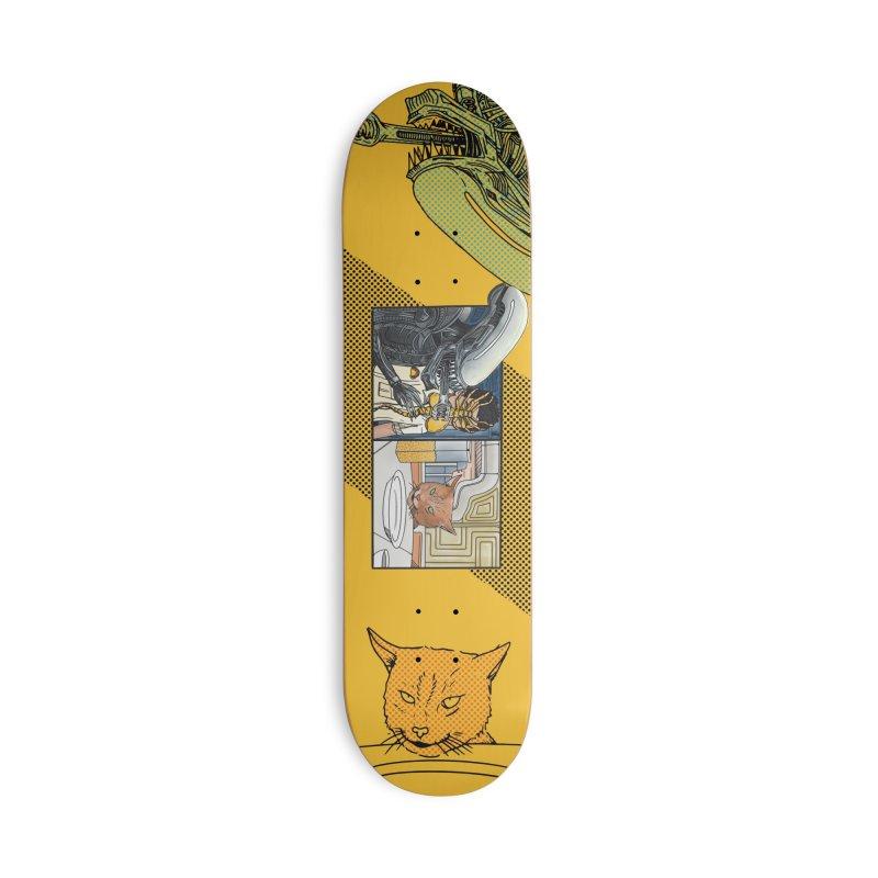Jonesy's Retort Accessories Skateboard by Steger