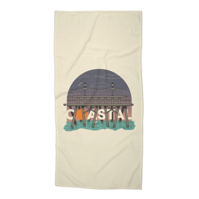 Coastal Accessories Beach Towel by Steger