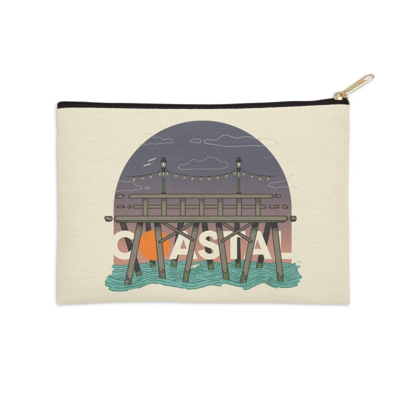 Coastal Accessories Zip Pouch by Steger