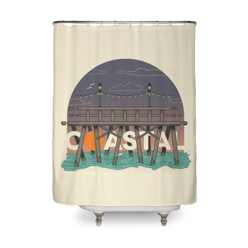 Coastal Home Shower Curtain by Steger