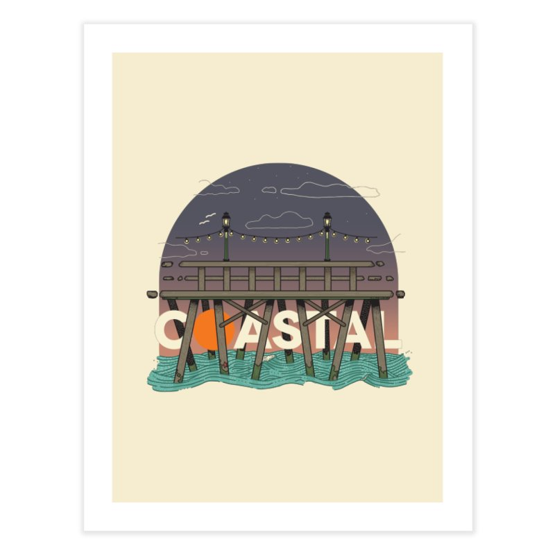 Coastal Home Fine Art Print by Steger