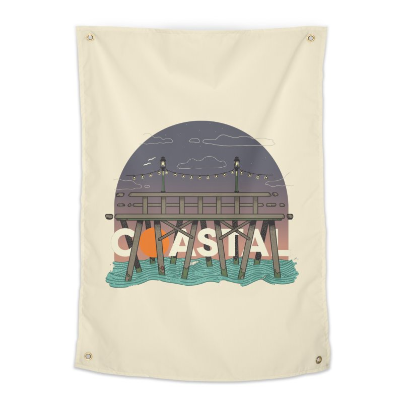 Coastal Home Tapestry by Steger