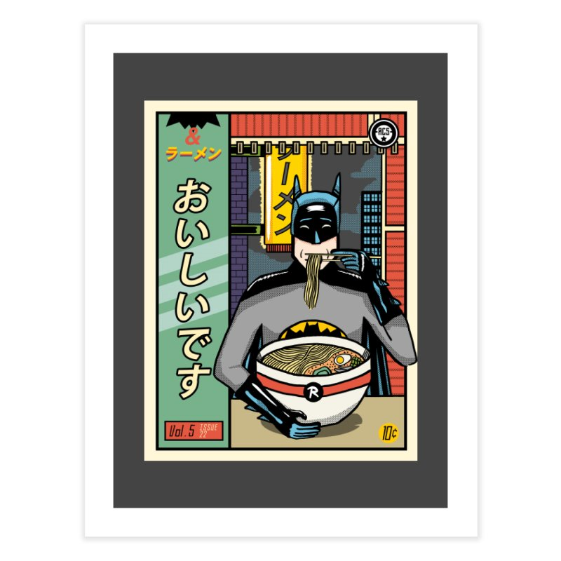 And Ramen Home Fine Art Print by Steger