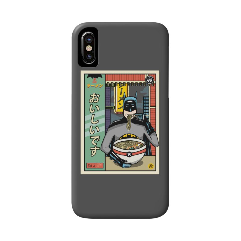And Ramen Accessories Phone Case by Steger