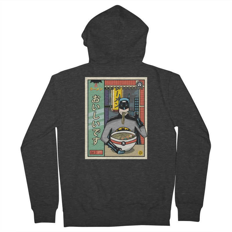 And Ramen Men's Zip-Up Hoody by Steger