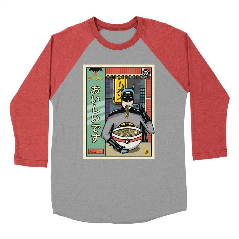 And Ramen Men's Baseball Triblend T-Shirt by Steger