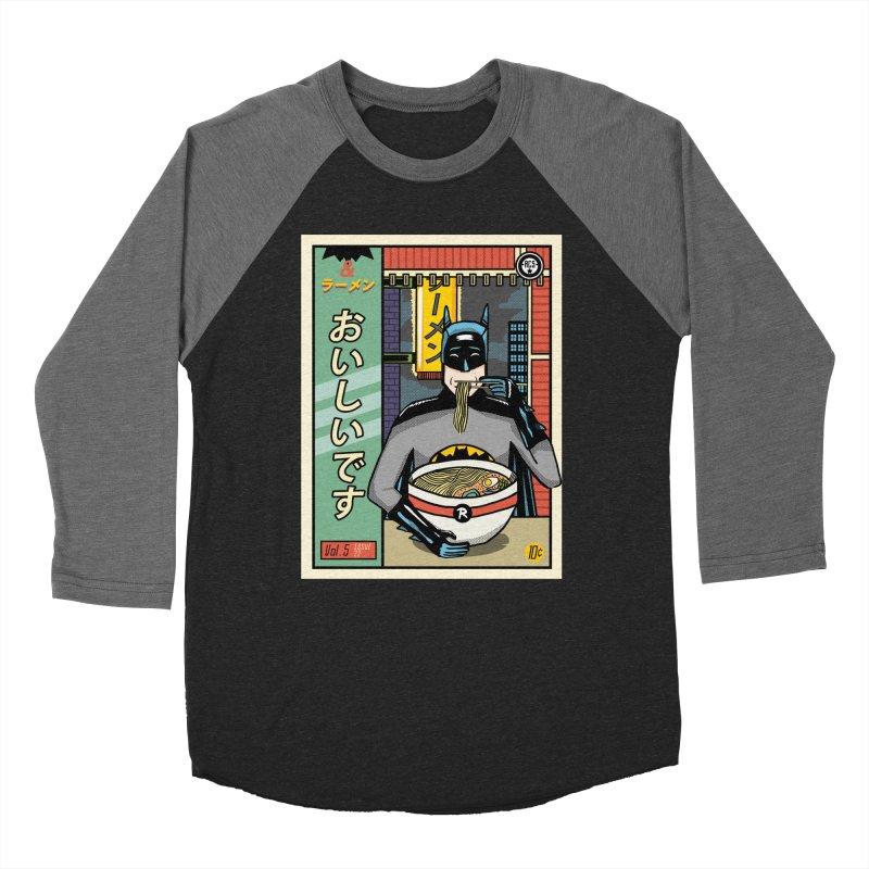 And Ramen Men's Baseball Triblend T-Shirt by Steger