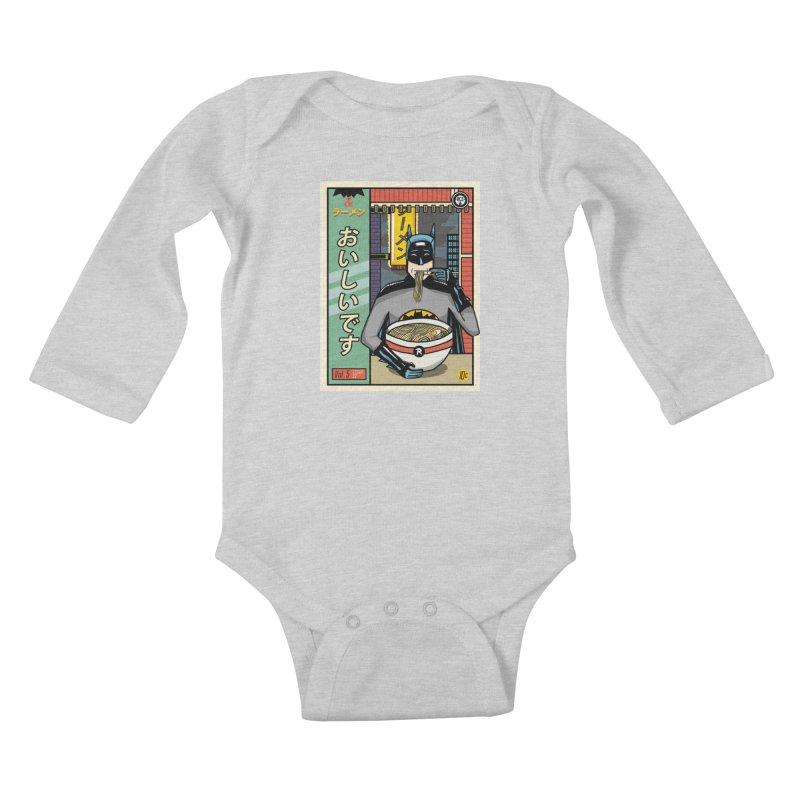 And Ramen Kids Baby Longsleeve Bodysuit by Steger