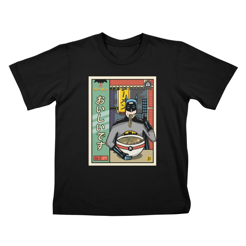 And Ramen Kids T-shirt by Steger