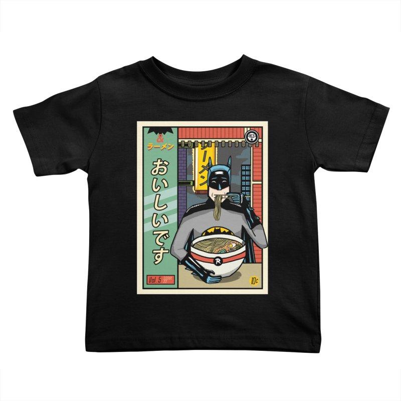 And Ramen Kids Toddler T-Shirt by Steger