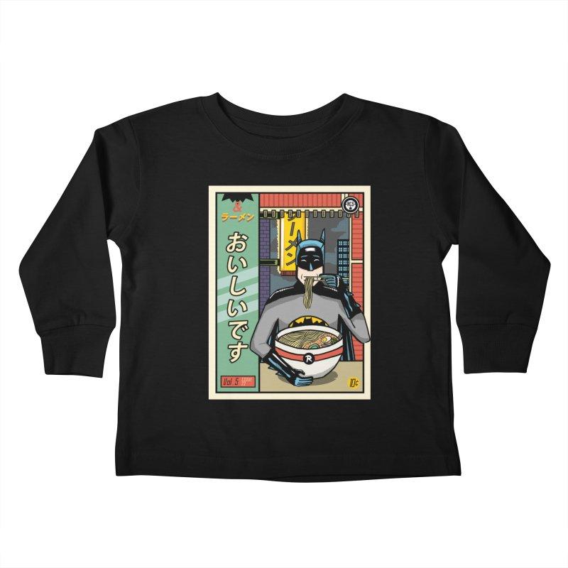 And Ramen Kids Toddler Longsleeve T-Shirt by Steger