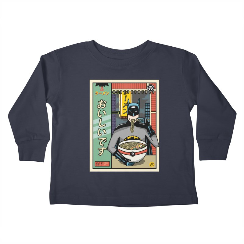 And Ramen Kids Toddler Longsleeve T-Shirt by Steger