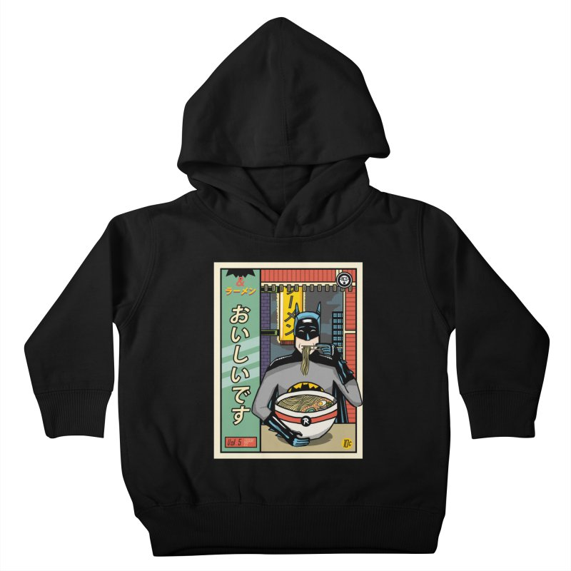 And Ramen Kids Toddler Pullover Hoody by Steger