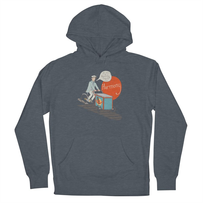 Captain Scrummy Women's Pullover Hoody by Steger