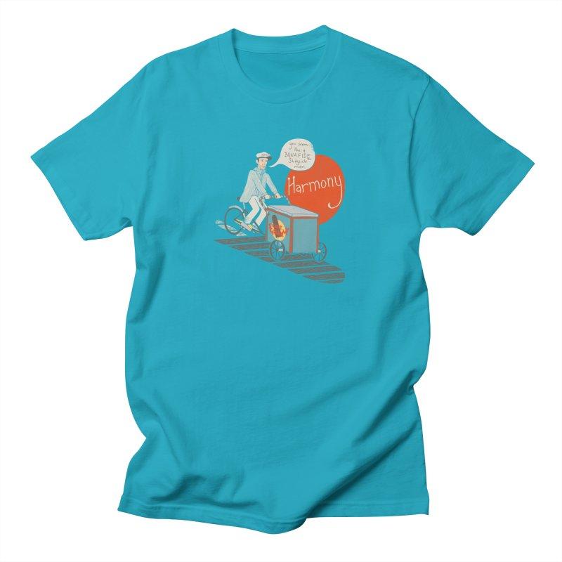 Captain Scrummy Men's T-shirt by Steger