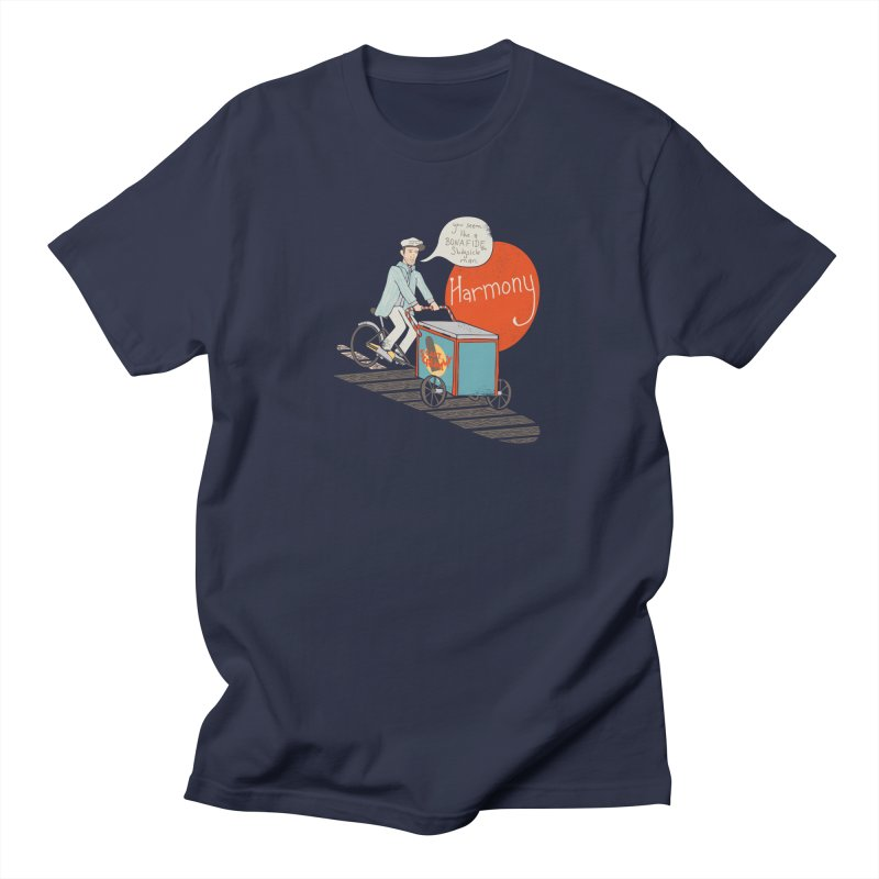 Captain Scrummy Men's T-shirt by Steger