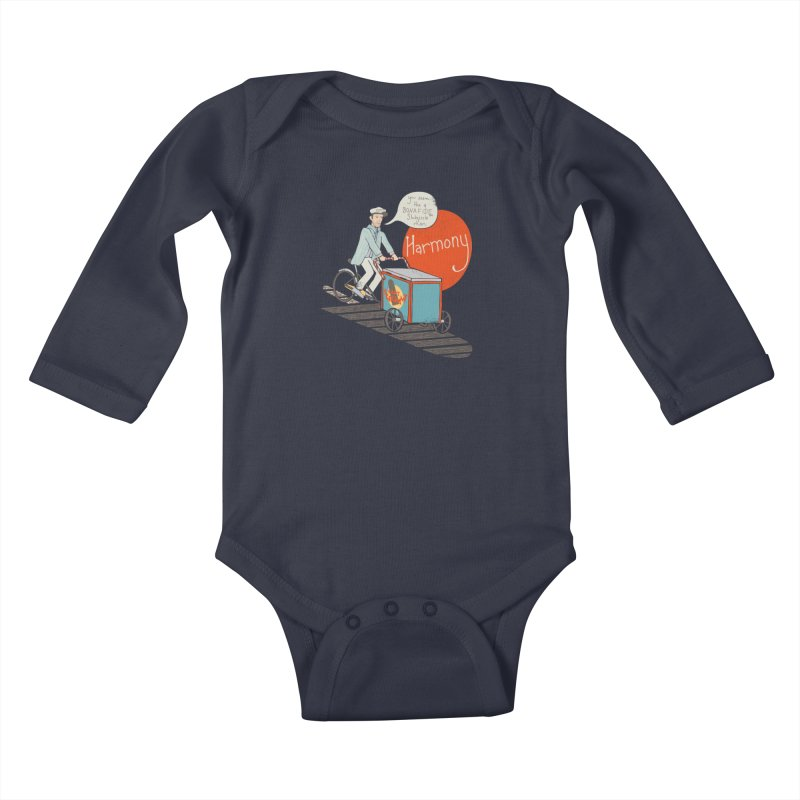 Captain Scrummy Kids Baby Longsleeve Bodysuit by Steger