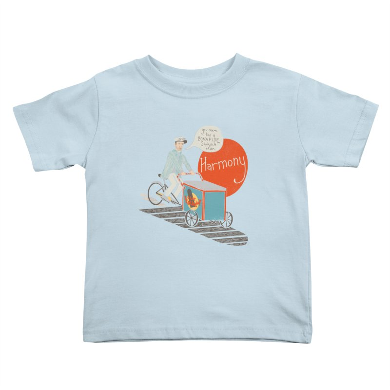 Captain Scrummy Kids Toddler T-Shirt by Steger
