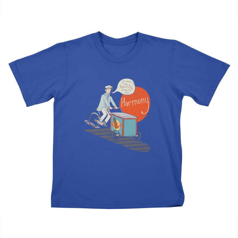 Captain Scrummy Kids T-Shirt by Steger