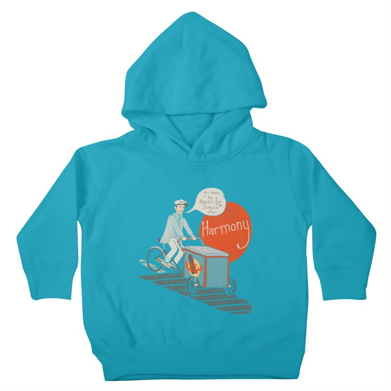 Captain Scrummy Kids Toddler Pullover Hoody by Steger