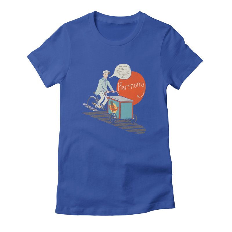 Captain Scrummy Women's Fitted T-Shirt by Steger