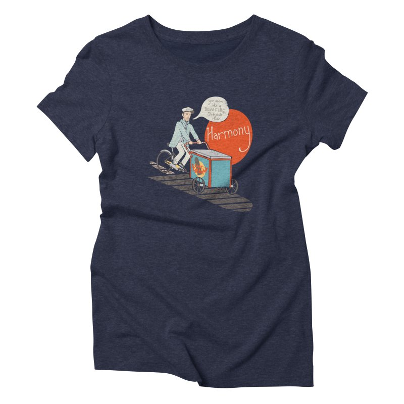 Captain Scrummy Women's Triblend T-shirt by Steger