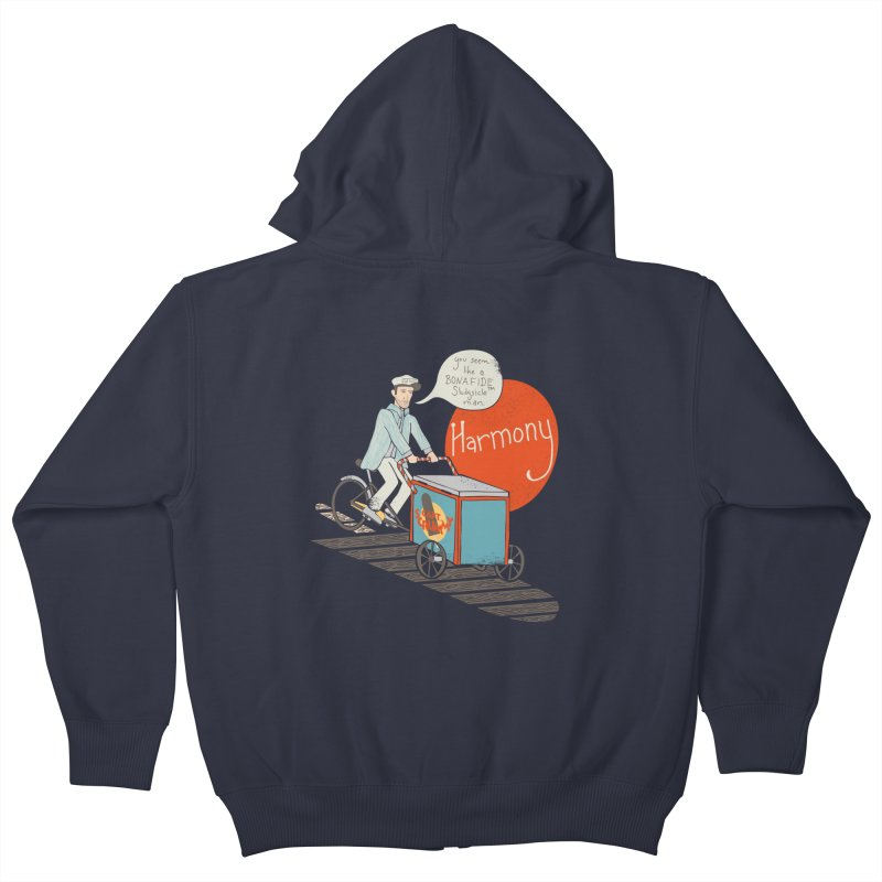 Captain Scrummy Kids Zip-Up Hoody by Steger
