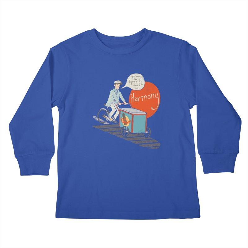 Captain Scrummy Kids Longsleeve T-Shirt by Steger