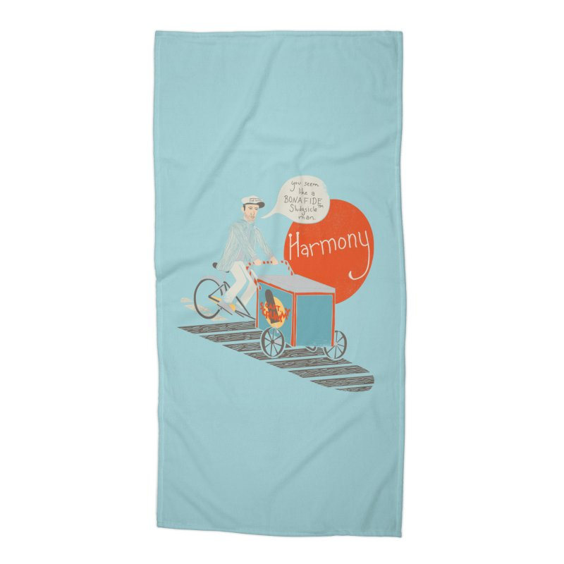 Captain Scrummy Accessories Beach Towel by Steger