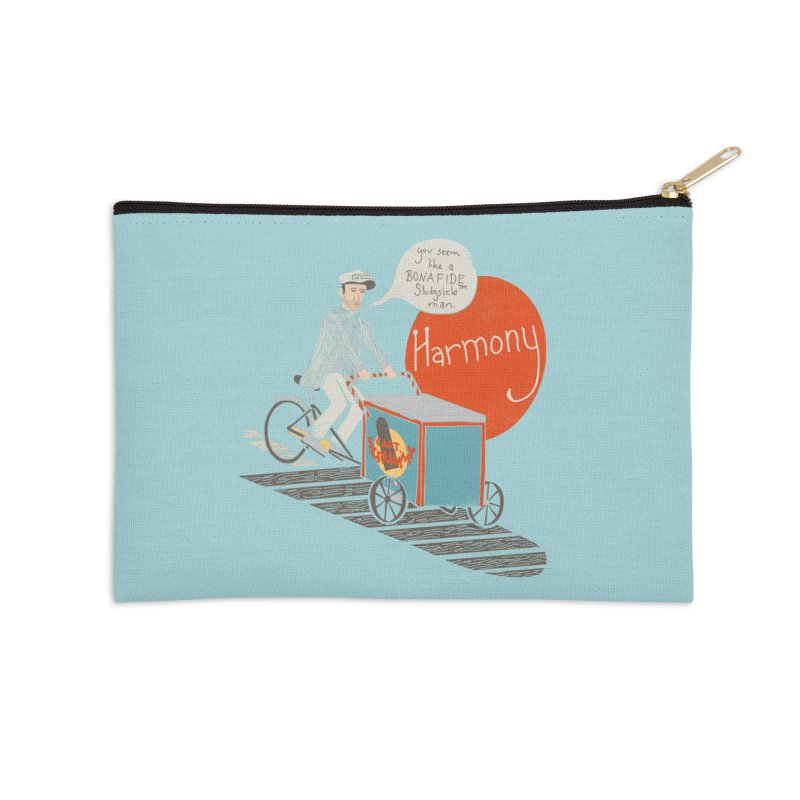 Captain Scrummy Accessories Zip Pouch by Steger