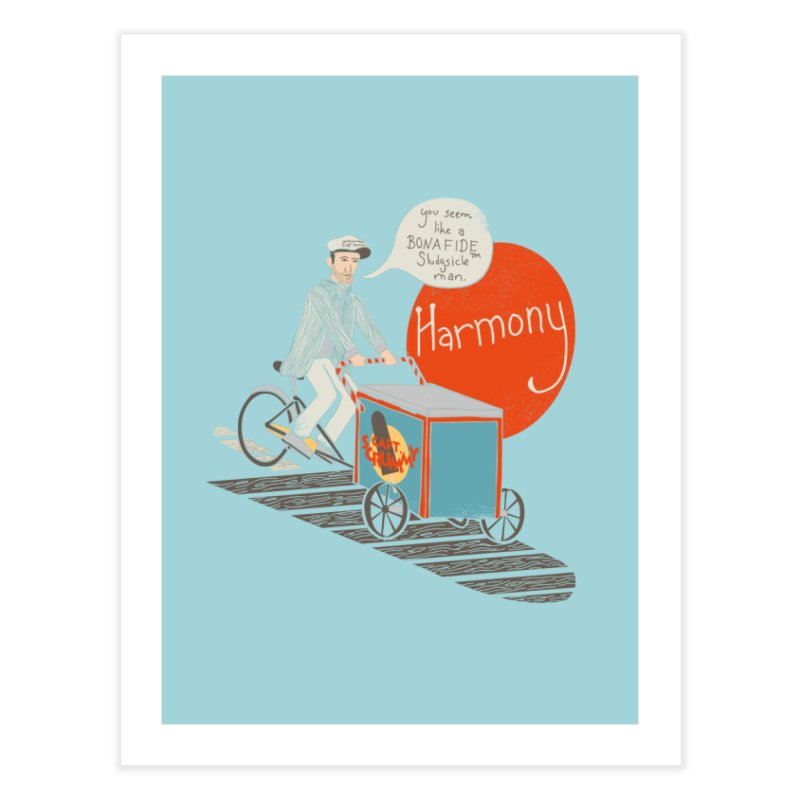 Captain Scrummy Home Fine Art Print by Steger