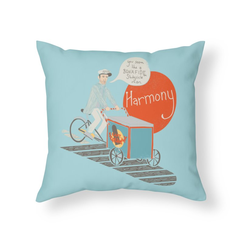 Captain Scrummy Home Throw Pillow by Steger