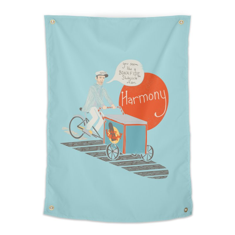 Captain Scrummy Home Tapestry by Steger