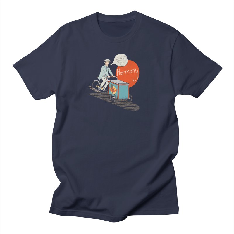 Captain Scrummy in Men's Regular T-Shirt Navy by Steger