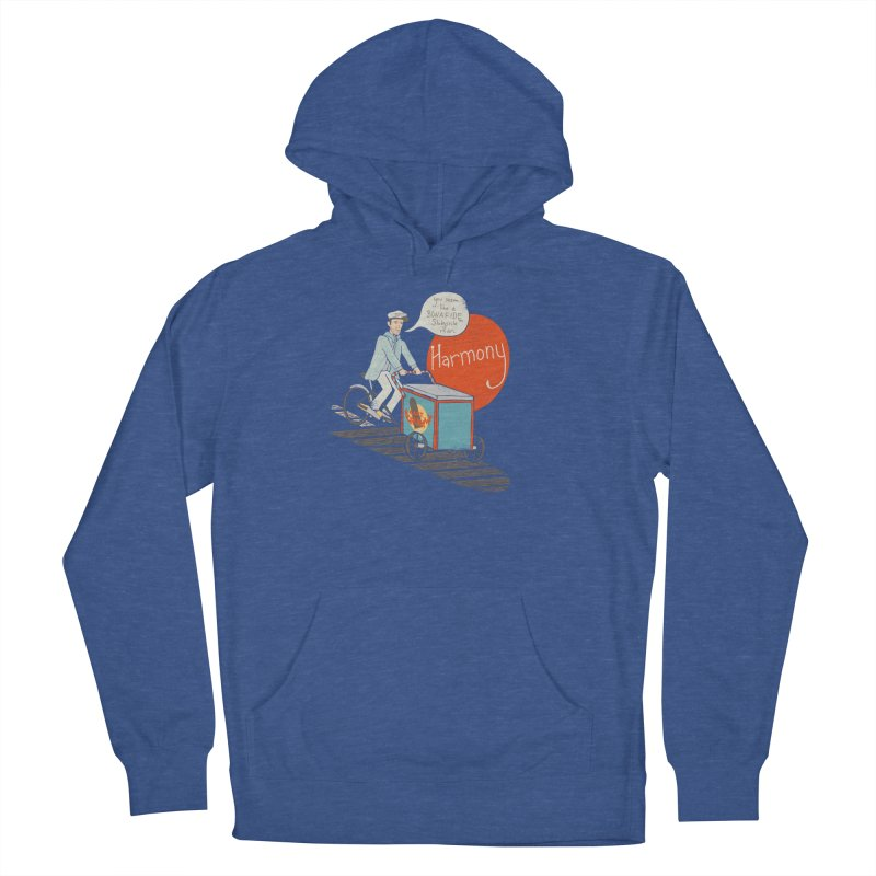 Captain Scrummy Women's French Terry Pullover Hoody by Steger