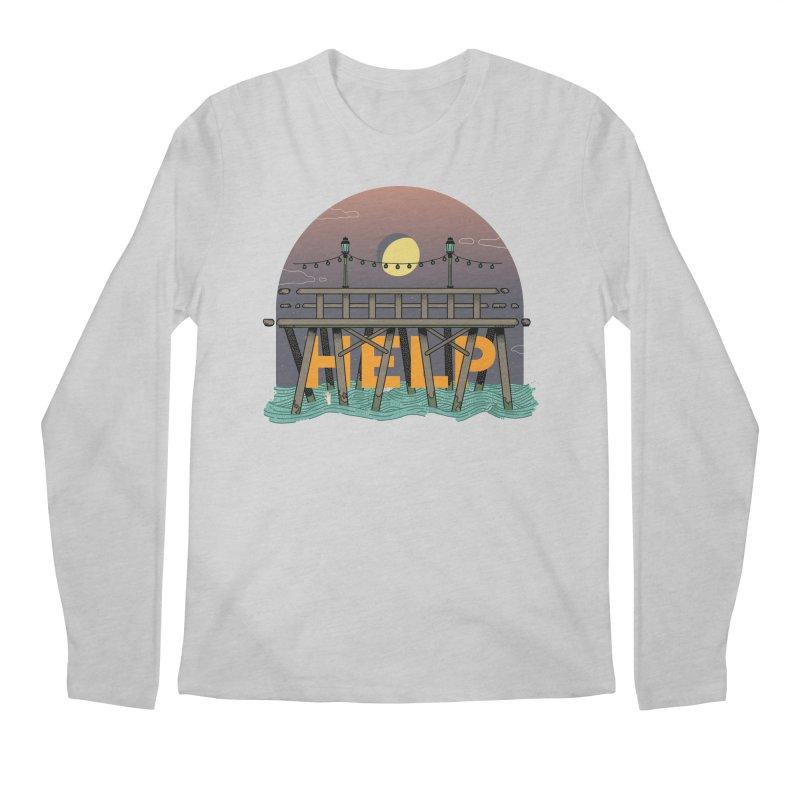 Help Men's Regular Longsleeve T-Shirt by Steger