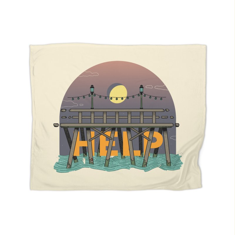 Help Home Fleece Blanket by Steger