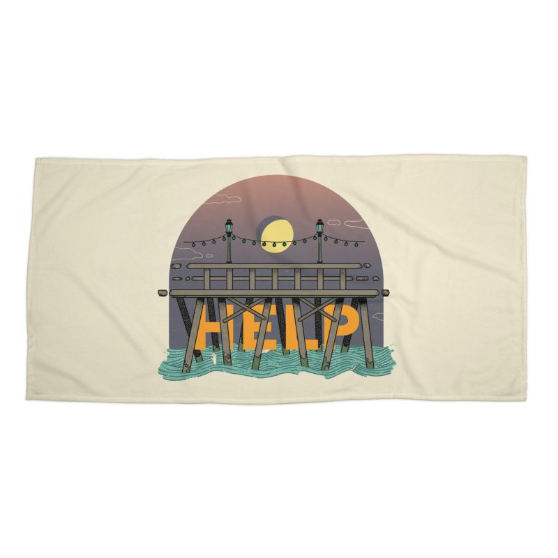 Help Accessories Beach Towel by Steger