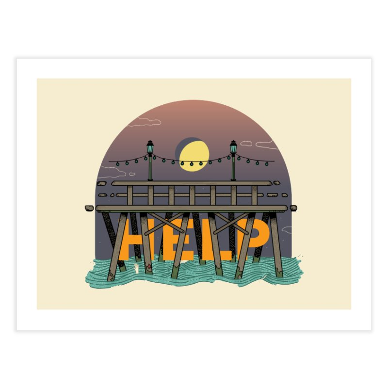 Help Home Fine Art Print by Steger