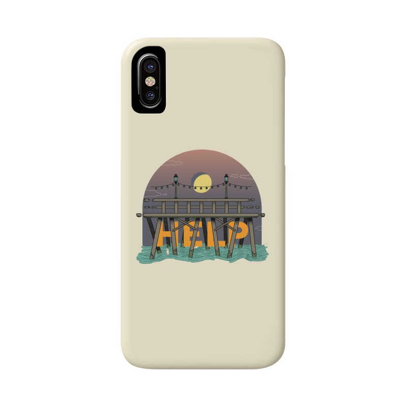 Help Accessories Phone Case by Steger