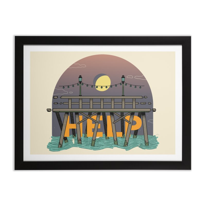 Help Home Framed Fine Art Print by Steger